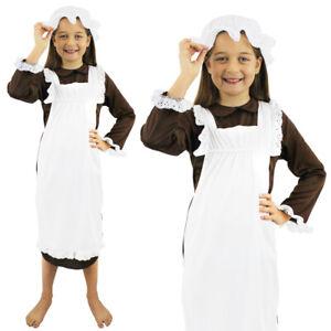 KIDS VICTORIAN COSTUME POOR KIDS HISTORICAL SCHOOL BOOK WEEK TUDOR FANCY DRESS