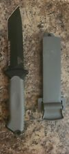 Gerber Prodigy Tanto Survival Knife + Plastic Sheath