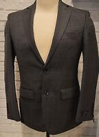 Men's Marc Anthony Gray Pinstripe Suit Separates Slim Fit Dress Coat Jacket
