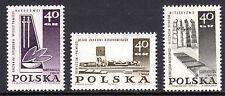Poland - 1967 Monuments WW II - Mi. 1757-59 MNH