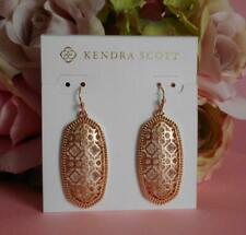 Kendra Scott Elle Filigree Rose Gold Earrings