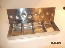 Vintage Palmer-Smith Aluminum Large Bossed Ivy Box HTF 4 deck