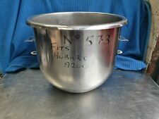 """NO573  STAINLESS STEEL MIXING BOWL FITS A200  HOBART MIXER """" NOT ORIGINAL"""""""