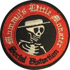 "Social Distortion aufbügler/Embroidery Patch # 5 ""mammina's Little Monster"""