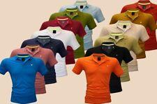 Herren Poloshirt T-Shirt Polo-Hemd Men  Kurzarm Freizeit Slim Fit