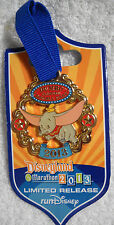 DLR Dumbo Inaugural Double Dare Run 2013 Disney Pin