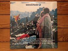 Woodstock Soundtrack 1970 Cotillion SD 3-500 Club PR Sealed Vinyl M