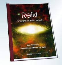 """Energie-Arbeitsmappe """"REIKI"""" - Übungen und Tipps zum Arbeiten mit Reiki - NEU -"""