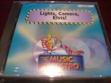 MUSIC MAESTRO KARAOKE 6381 LIGHTS CAMERA ELVIS CD+G OOP SEALED