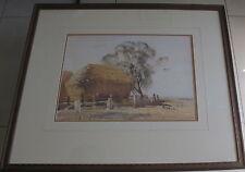 Carlyle Jackson(1891~1940)~Australian listed artist~original painting~Farm Scene