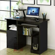Small Computer Study Student Desk Laptop Table with Drawer Home Office Furniture