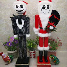 Wooden Singer Nutcracker Christmas Walnut Santa Claus Ornaments Home Decoration