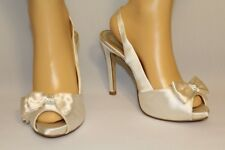 Wedding Stiletto shoes size 38  by Next colour Cream