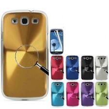 Nuevo disco de metal de aluminio cubierta rígida cubierta trasera para Samsung Galaxy S3 SIII i9300