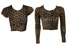 Unbranded Animal Print Short Sleeve Tops & Shirts for Women