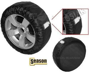 "Spare Wheel Ortalion Protective Cover Tyre Tire Storage Bag 16 '' 17 "" Black L"