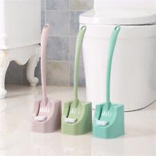 Tragbare Doppelseitige Toilettenbürste Langgriff Badezimmerreinigungsbürste