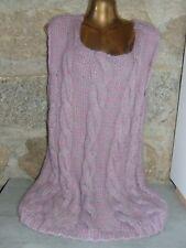 superbe robe   pull mohair tricoté main ANNY BLATT taille 42   44 comme neuf 753bbf1370c