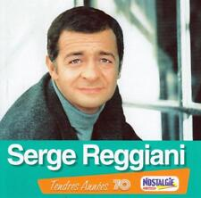 CD audio.../...SERGE REGGIANI.../...TENDRES ANNEES 70.....