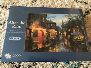 Gibsons 2000 Piece Jigsaw Puzzle --  After The Rain