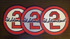 Red Schoendienst Patch ALL 3 Colors St Louis Cardinals Baseball Jersey #2