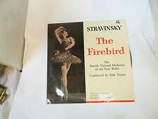 "STRAVINSKY THE FIREBIRD DANISH NATIONAL ORCHESTRA SC9 FRC10"" VINYL LP"