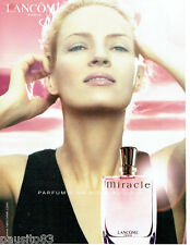 PUBLICITE ADVERTISING 026  2001  Lancome parfum Miracle