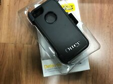 PREOWNED Otterbox Defender Apple iPhone 5 5s Protection Belt Clip Holster Black
