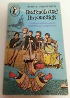 BOOK - Vintage Paperback Mary Norton's Bedknob And Broomstick Penguin Book 1970