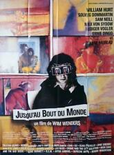 UNTIL THE END OF THE WORLD - WENDERS / HURT / AUSTRALIA - FRENCH MOVIE POSTER