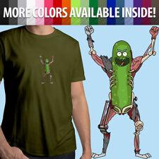 Rick and Morty Rat Suit Pickle Grandpa Sanchez Meme Unisex Mens Tee Crew T-Shirt