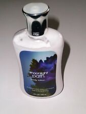 BATH & BODY WORKS MOONLIGHT PATH 8 OZ LOTION SIG COLLECTION ALOE GRAPE SEED