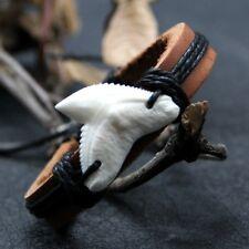 great white tiger shark tooth neckalce bracelet pendant
