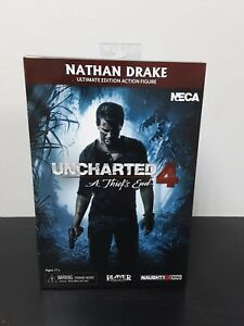 NECA Uncharted 4 A Thief's end Nathan Drake Action Figure Ultimate Editon In Box