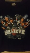 Carolina Panthers 2015 BELIEVE Black XL T-Shirt Olsen Kuechly Stewart Newton...