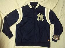 Stitches NY Yankees Jacket Med Weight Adult Size XL + Fitted Cap New With Tags!
