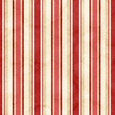 From The Farm By Maywood Studio - Red Awning Stripe #8286-R