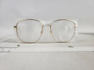 GUCCI GG0396O 002 Gold Demo Lens Eyeglasses 56 mm