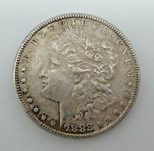 1882-P MORGAN SILVER DOLLAR 90% US COIN V153