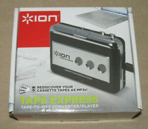 Ion Tape Express ~ Cassette Tape To MP3 Converter / Player