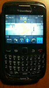 BlackBerry Curve 9330 - Black (Sprint) Smartphone - Used - Works