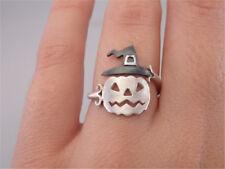 Halloween Pumpkin Finger Ring Cute Women Open Adjustable Rings Party Jewelry