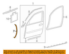 Cadillac GM OEM 00-05 DeVille Front Door-Front Weatherstrip Seal Right 25899622