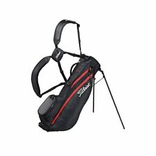 TITLEIST Golf Men's Stand Caddy Bag Players 4 Carbon 8x47 in 1.7kg Black TB20SX5