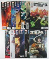 Star Wars Doctor Aphra #11-#15 #17 #19-#23 #28 +Annual #2 Gillen Walker Marvel