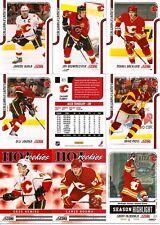 2011-12 Panini Score Calgary Flames Complete Team Set (20)