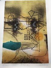 "Original Mono Etching by Don Eachells ""Nostalgia III"" - Artist Proof 1996"