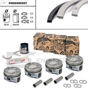 4x Kolben Reparatursatz STD DN 76,50 mm VV AUDI SKODA SEAT 1,4 TSI CAVA CAVB