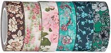 Washi Tape   Evermae Design Co. -- Vintage Florals Premium Japanese Washi Tape,