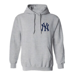 New York Yankees NY Hoodie Hooded Sweat Shirt NYC Sweatshirt Sweater Chest